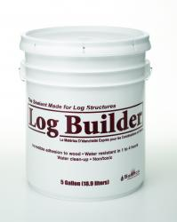 Log Builder  - Tan 5 Gallon