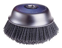 Osborn Brush 6 inch 80 grit Round Trim