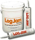 Log Jam Chinking - 5 Gallon White White