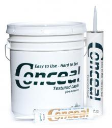 Conceal Textured Caulk Brown Tone - 5 Gallon