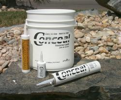 Conceal Textured Caulk Redwood - 5 Gallon