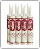 Perma-Chink case of (10) 30 oz. tubes Medium Gray