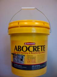 ABOCRETE- Structural Patching & Resurfacing Cement 5 Gallon Kit - Light Gray