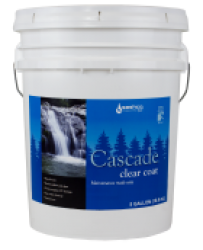 Cascade Exterior Clear Coat  5 gallon Matte
