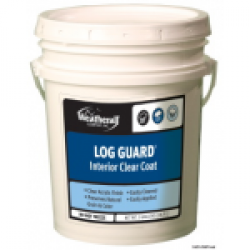 Log Guard Interior Clear Coat - Satin 5 Gallon