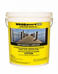 WoodGuard Swedish Wood Oil  1 gallon